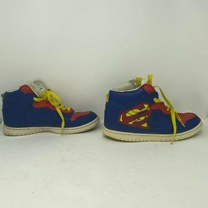 Nike Kids Superman Dunk High Shoes Sneaker 12.5 US